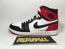 "2013 Nike Air Jordan I 1 Retro High OG ""BLACK-TOE"" 555088-184 SZ 10.5"