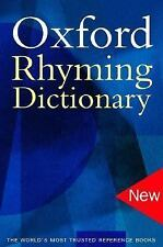 Oxford Rhyming Dictionary-ExLibrary