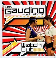 (FI450) Alex Gaudino ft Shena, Watch Out - 2008 DJ CD