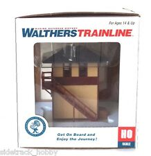 HO Scale Walthers Trainline 931-810 Trackside Signal Tower Built-Up