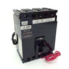 3-poli Interruttore Automatico fal36015 SQUARE D 15a 600vac/250vdc mf21 * NUOVO *