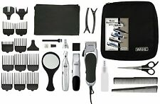Wahl Professional Hair Cutting Kit 30 Piece Trimmer Clipper Barber Tool Removal