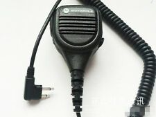 2 Pin Handheld Speaker MIC for MOTOROLA Radios GP300 GP88s GP2000