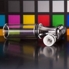 Straight Glass 510 Atomizer / Phatomizer Dual Quartz Coil + 2 Extra Coils