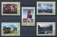 29550) RUSSIA 1974 MNH** Russian paintings 5v.