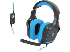 LOGITECH G430 Surround Sound USB Gaming Headset (for PC & PS4) NEW - RRP £69.99