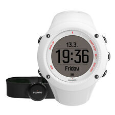 NEW! Suunto Ambit3 Run HR WHITE Fitness Watch (HRM included) SS021259000