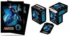 Ultra Pro MTG Mana 4 Planeswalkers Jace Deck Box & Sleeves 80ct.