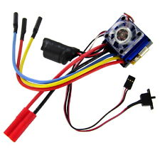 Brushless ESC (7.4v-11.1v, 60A) with Banana connector for battery and ESC.