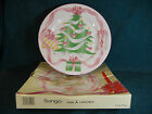 Sango Home For Christmas 4829 Chop Plate / Round Serving Platter 12 1/8""