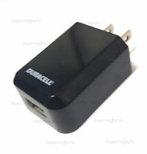 NEW Duracell Du1673 Mini Usb Wall Charger 5v 1A black 2014 Model - Bulk Packing