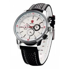 Be-Shark SH093be Men's Quartz Movement Date White Dial Sport Watch SH093be