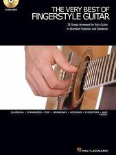 The Very Best of Fingerstyle Guitar : 25 Songs Arranged for Solo Guitar in...