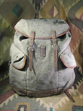Vintage Swiss Military Salt and Pepper  backpack