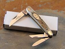 GERMAN EYE, JIM BOWIE BRAND GENUINE STAG WHITTLER POCKET KNIFE, GERMANY, JB21DS