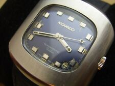 VINTAGE 60'S SS MOVADO KINGMATIC VIDEO SUB-SEA AUTOMATIC CAL 388           #6286