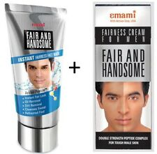 Emami Mens Fair and Handsome Fairness Face Wash & Skin Whitenening Face Cream