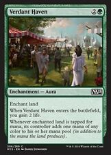 MTG Magic M15 FOIL - Verdant Haven/Havre verdoyant, English/VO