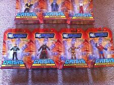 DC Universe Series 1 Crisis Lot ADAM STRANGE GUY GARDNER BLACK HAND HUSH NEW