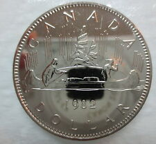1982 CANADA VOYAGEUR DOLLAR PROOF-LIKE COIN