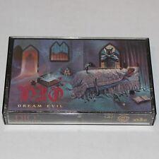 DIO Cassette Tape Dream Evil '87 Heavy Metal Ronnie James Dio Craig Goldy