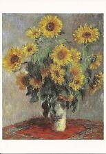 Carte Postale Claude Monet - Bouquet de Soleils