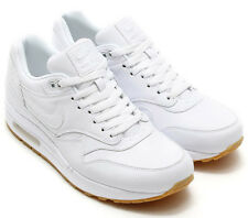 Size 11 Men's Nike Air Max 1 Leather PA 705007 111 White
