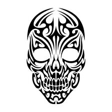 Skulls Vinyl Graphic Decal Car Window Sticker Diesel Car Funny Tribal