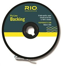 RIO Dacron Fly Line Backing, 20lb / 100 yards, Color Orange...New!