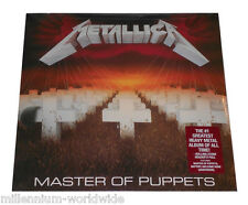 "SEALED & MINT - METALLICA - MASTER OF PUPPETS - 12"" VINYL LP RECORD ALBUM"