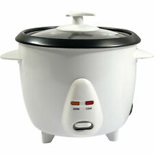 NEW NON STICK AUTOMATIC ELECTRIC RICE COOKER POT WARMER WARM POT COOK 0.8 LITRE