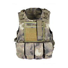 Camo Painball Airsoft Camouflage Tactical Vest for Airsoft Survival Games Armor