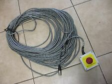 Emergency Stop Switch 16/20 Cable 100FT