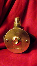 "Vintage Industrial Factory ""AGRO"" Watertight Bell/Buzzer Push Solid Brass Plate"