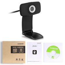 AUSDOM AW310 720P HD 33fps Webcam Computer PC Web Camera Skype for Win XP 7 8 10