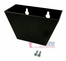 BLACK Plastic Cap Catcher Wall Mounted for Starr X Bottle Openers with SCREWS