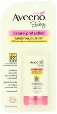 Aveeno Baby Natural Protection Face Stick Sunscreen, SPF 50 - 0.5oz Each