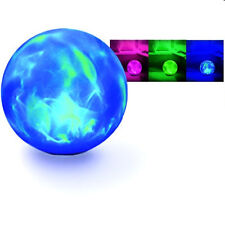 Crystal Ball Oz Psychic Halloween Changing Swirling BIG NICE Lighted Prop