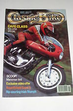 Classic Bike 1990 August, BSA A7SS Cafe Racer/Triumph Trophy Trial/Enfield 250
