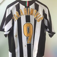 IBRAHIMOVIC JUVENTUS WORN FRIENDLY MATCH PRE SEASON 2005 2006 UNWASHED 05 06