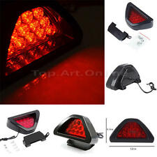 Universal F1 Style 12 LED Red Rear Tail Third Brake Stop Safety Lamp Light Car *