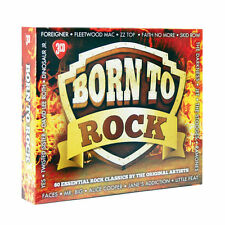 BORN TO ROCK - 3 CDset 60 Rock Classics, Greatest Hits Of Rock, Best Of Rock NEW