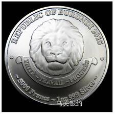 African Lion 2015 Silver .999 1oz (UNC)