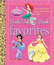 Disney Princess Little Golden Book Favorites (Disney Princess), Michael Teitelba