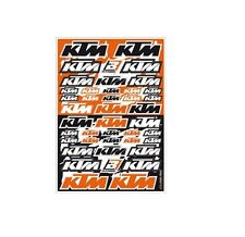 Motocross MX Autocollant Décor KTM Factory racing sticker set Kit Orange sx sxf