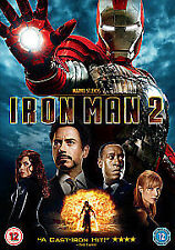 IRON MAN 2 - 2010 MARVEL DVD FAST POST NEW SEALED ROBERT DOWNEY JR. JON FAVREAU