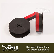 Oliver Portable Typewriter Ribbon, Black and Red