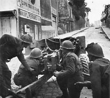 6x4 Gloss Photo ww235 Normandy Calvados Caen 1944 32