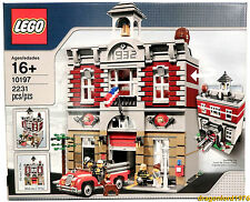 New in Sealed Box! Rare Lego Creator 10197 Fire Brigade Modular Set Fighter city