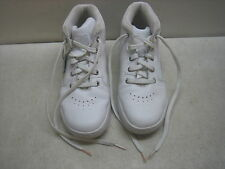 MEN'S TIMBERLAND WHITE LEATHER BOOTS SHOES SNEAKERS SIZE 6